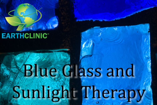 Blue Glass and Sunlight Therapy