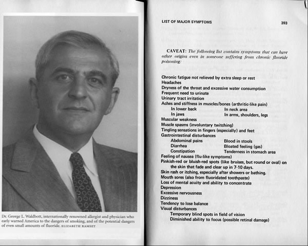 Dr Waldbott Book on Fluoridation