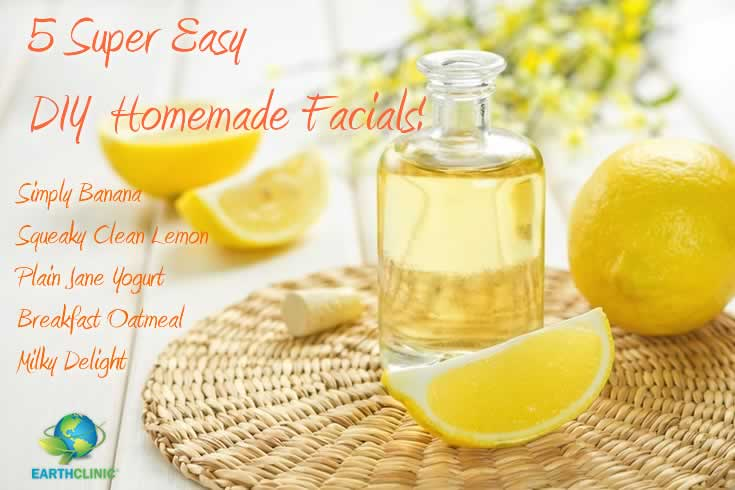5 Easy DIY Home Facials