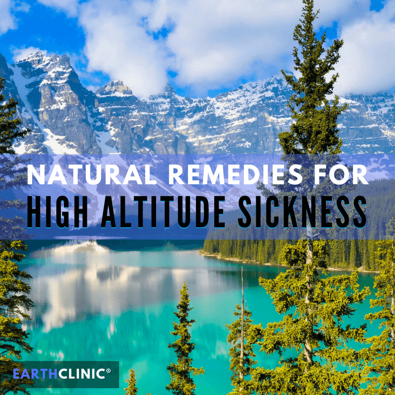 Altitude Sickness Home Remedies