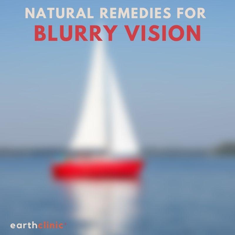 Blurry Vision Remedies