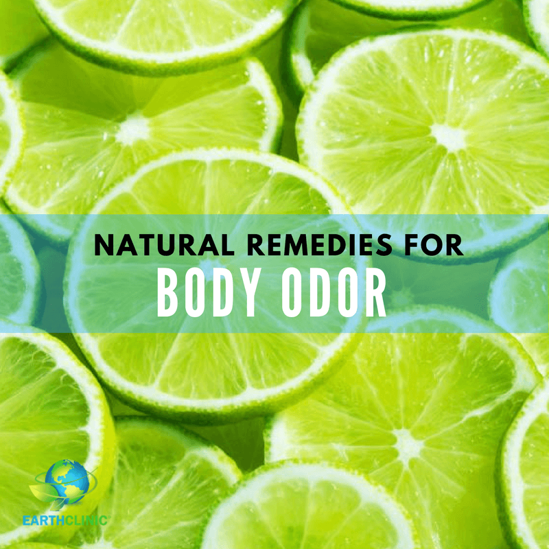Body Odor Natural Remedies