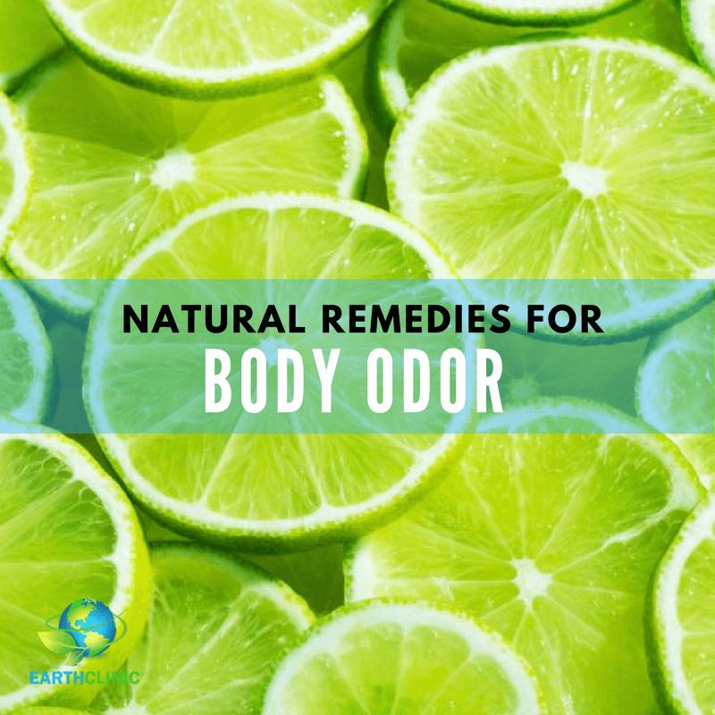 Body Odor Natural Remedies