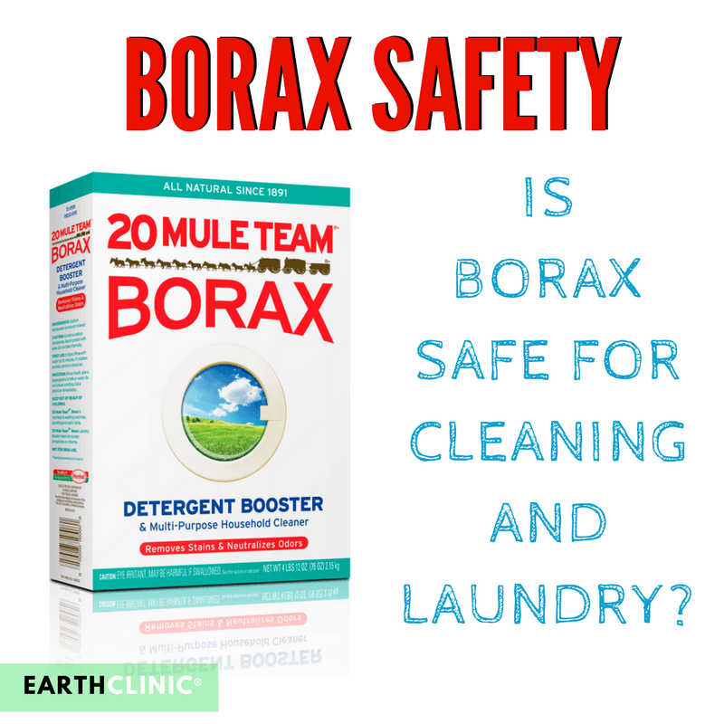 Borax Safety for Cleaning and Laundry