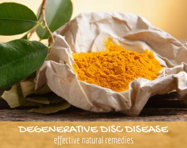 Degenerative Disc Disease Natural Remedies