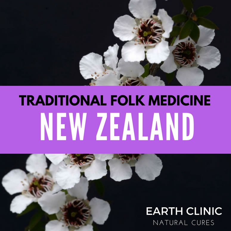 New Zealand Traditional Folk Medicine