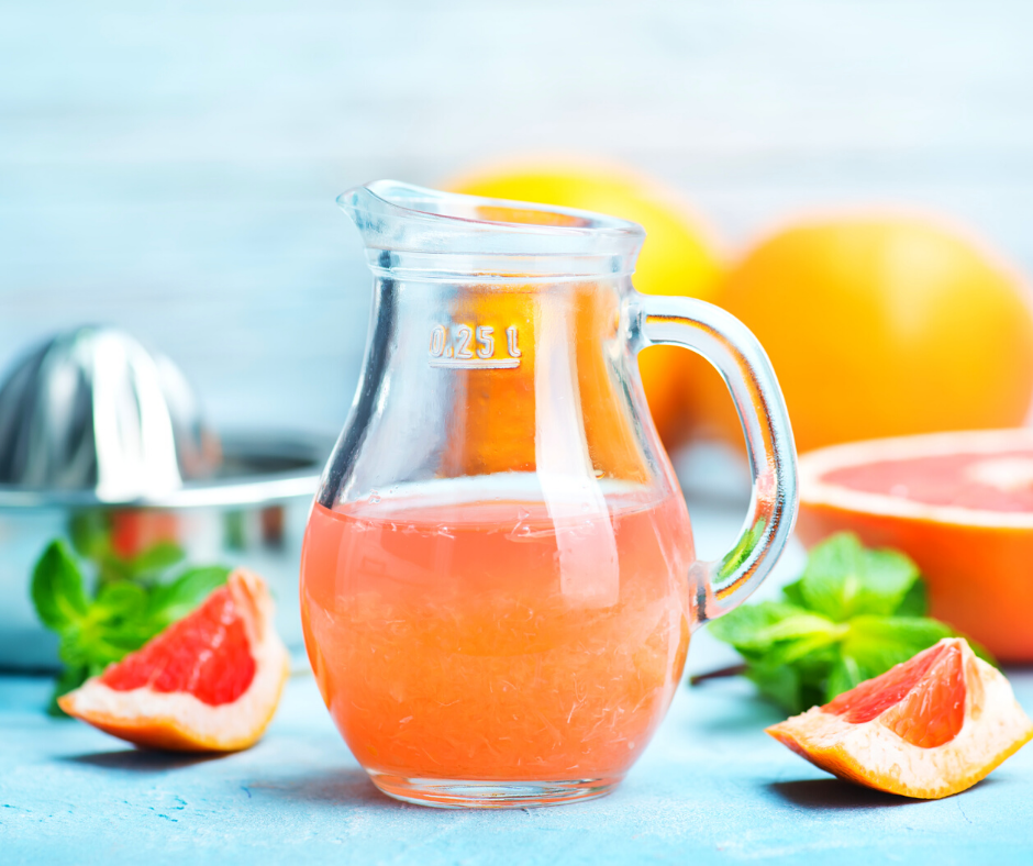 Grapefruit Juice for Dehydration.