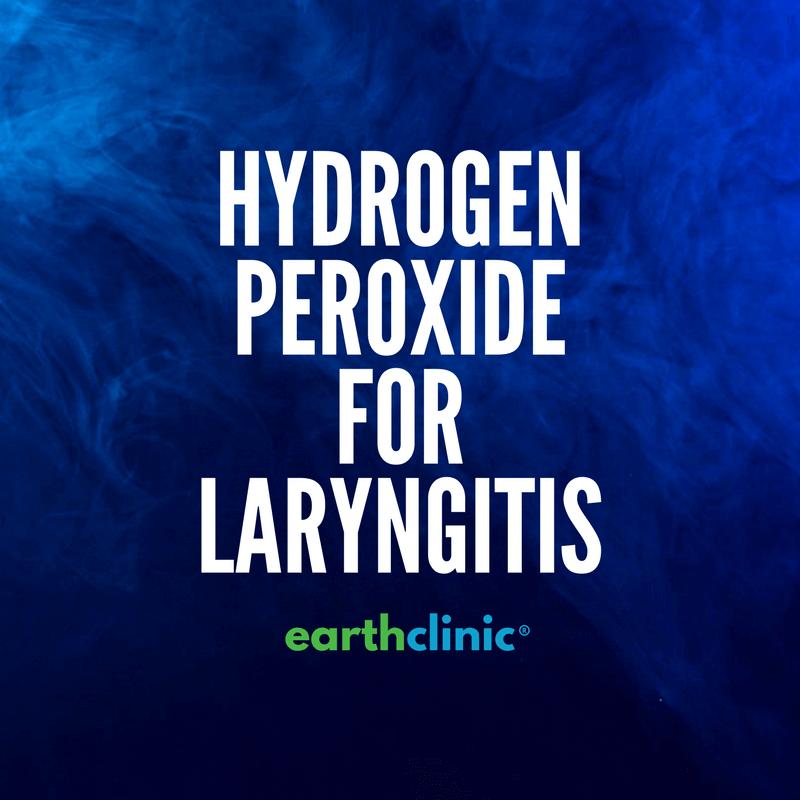 Hydrogen Peroxide for Laryngitis