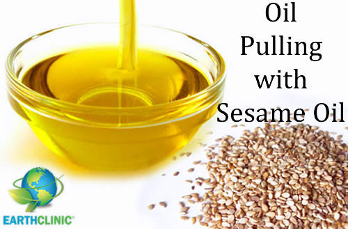 Oil Pulling With Sesame Oil