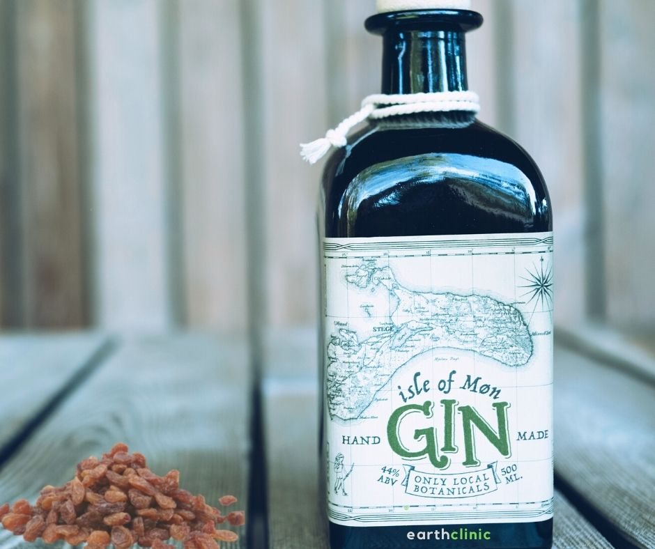 Raisins in Gin for Arthritis