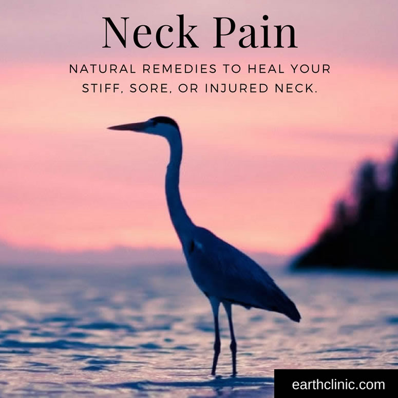 Stiff Neck Natural Remedies
