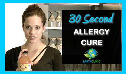 30 Second Cure for Allergies
