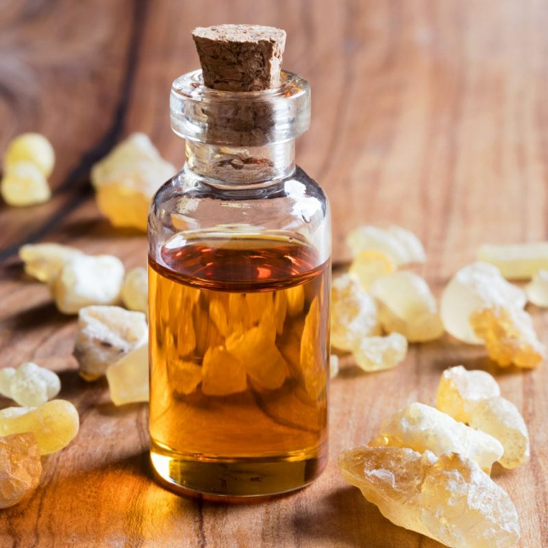 Frankincense essential oil remedy on Earth Clinic.