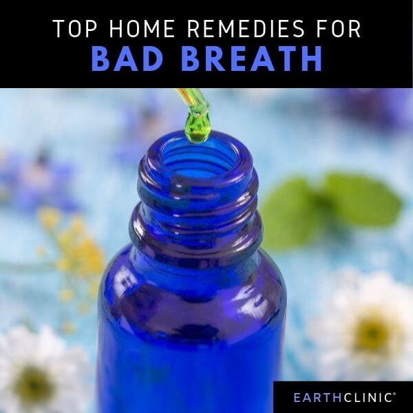 Natural remedies to get rid of bad breath.