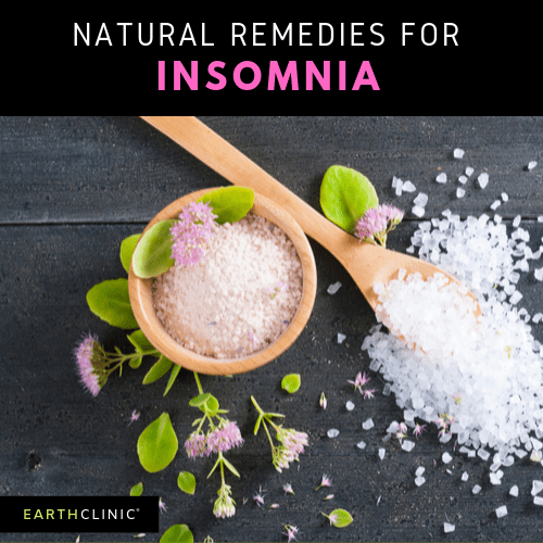 Natural remedies for insomnia.
