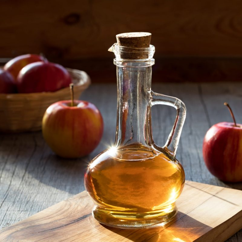 Apple Cider Vinegar for Dandruff and Itchy Scalp.