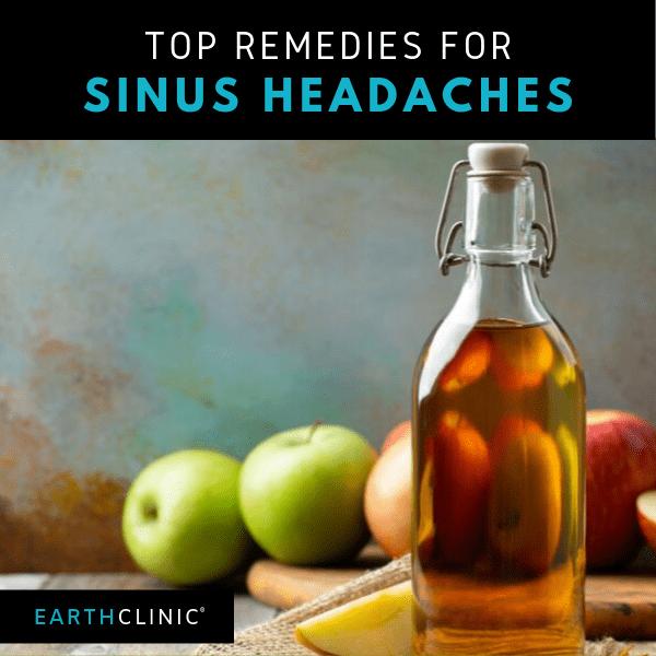 Natural sinus headache treatment.