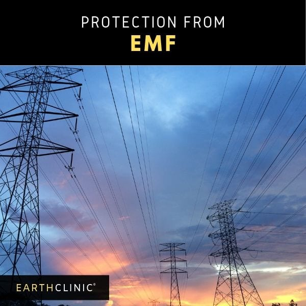 EMF protection remedies on Earth Clinic.