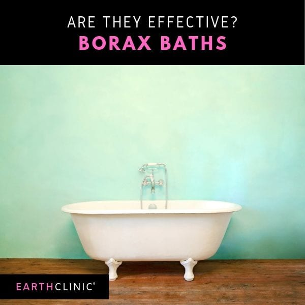 Are Borax Baths Effective?