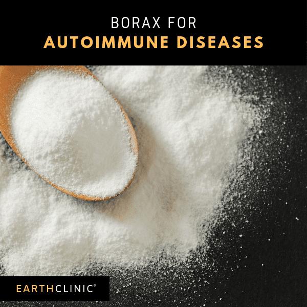 Borax for autoimmune diseases.