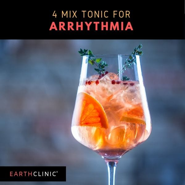 Earth Clinic arrhythmia tonic.