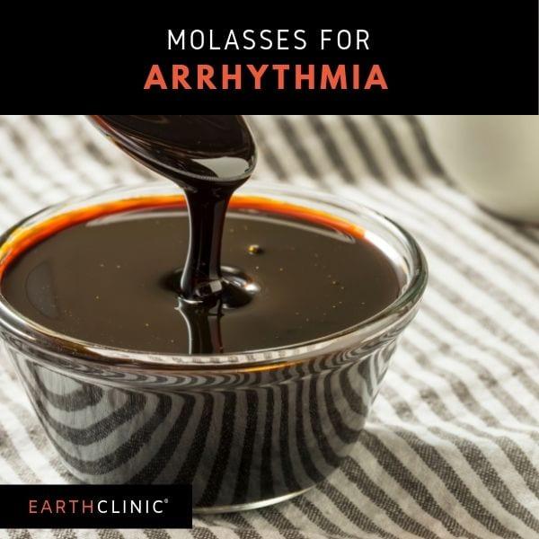 Molasses remedy for arrhythmia on Earth Clinic
