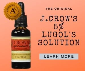 Lugols iodine solution 5%