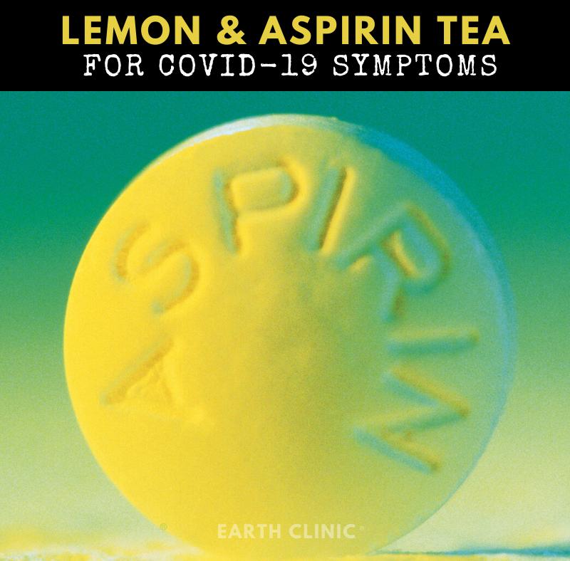Lemon and Aspirin Tea